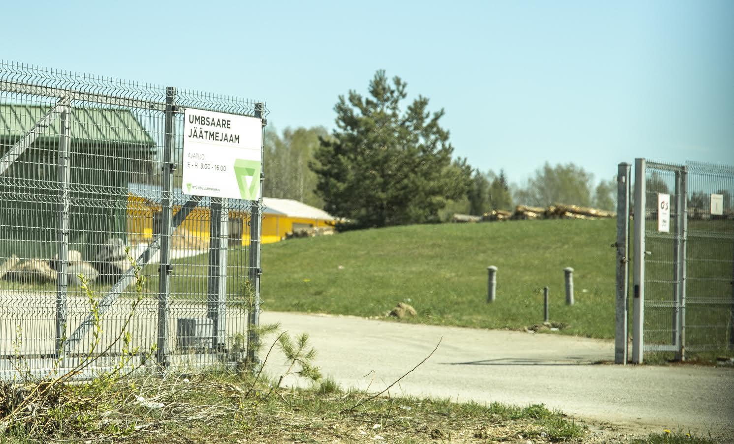 Umbsaare jäätmekeskus võtab linna kõneisiku kinnitusel jäätmed kõigilt vastu ja kõigile kehtib üks hinnakiri. Foto: AIGAR NAGEL